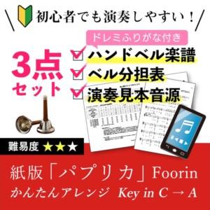 紙版「パプリカ」かんたんアレンジ Foorin/米津玄師