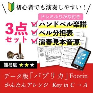 データ版「パプリカ」かんたんアレンジ Foorin/米津玄師